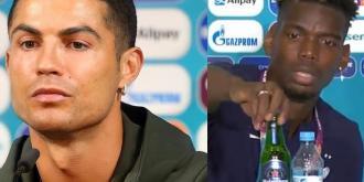 O Ronaldo απομάκρυνε τα αναψυκτικά και ο Pogba τη μπύρα [βίντεο]